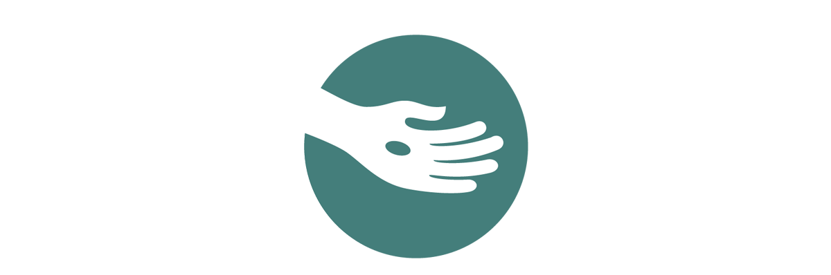 Adventist Giving hand logo